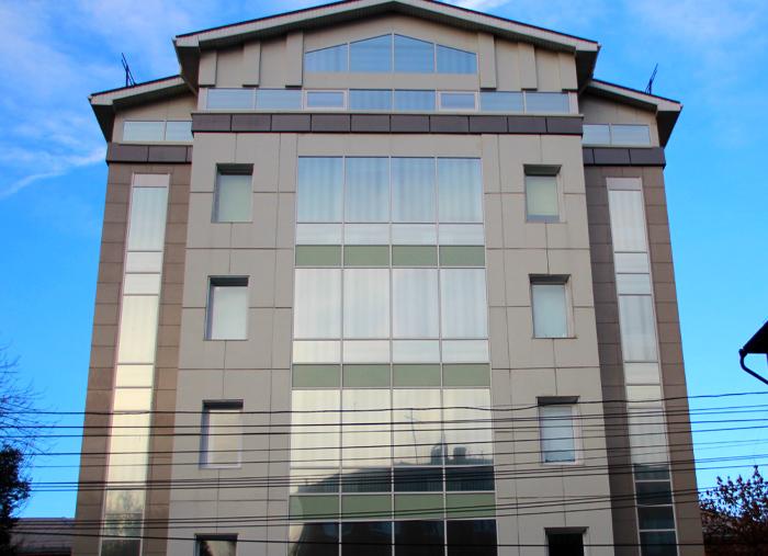 Бизнес здание на ул.Агеева