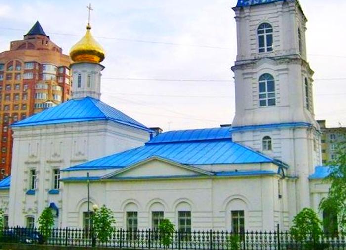Свято-Никольский храм. г. Тула, ул. Революции