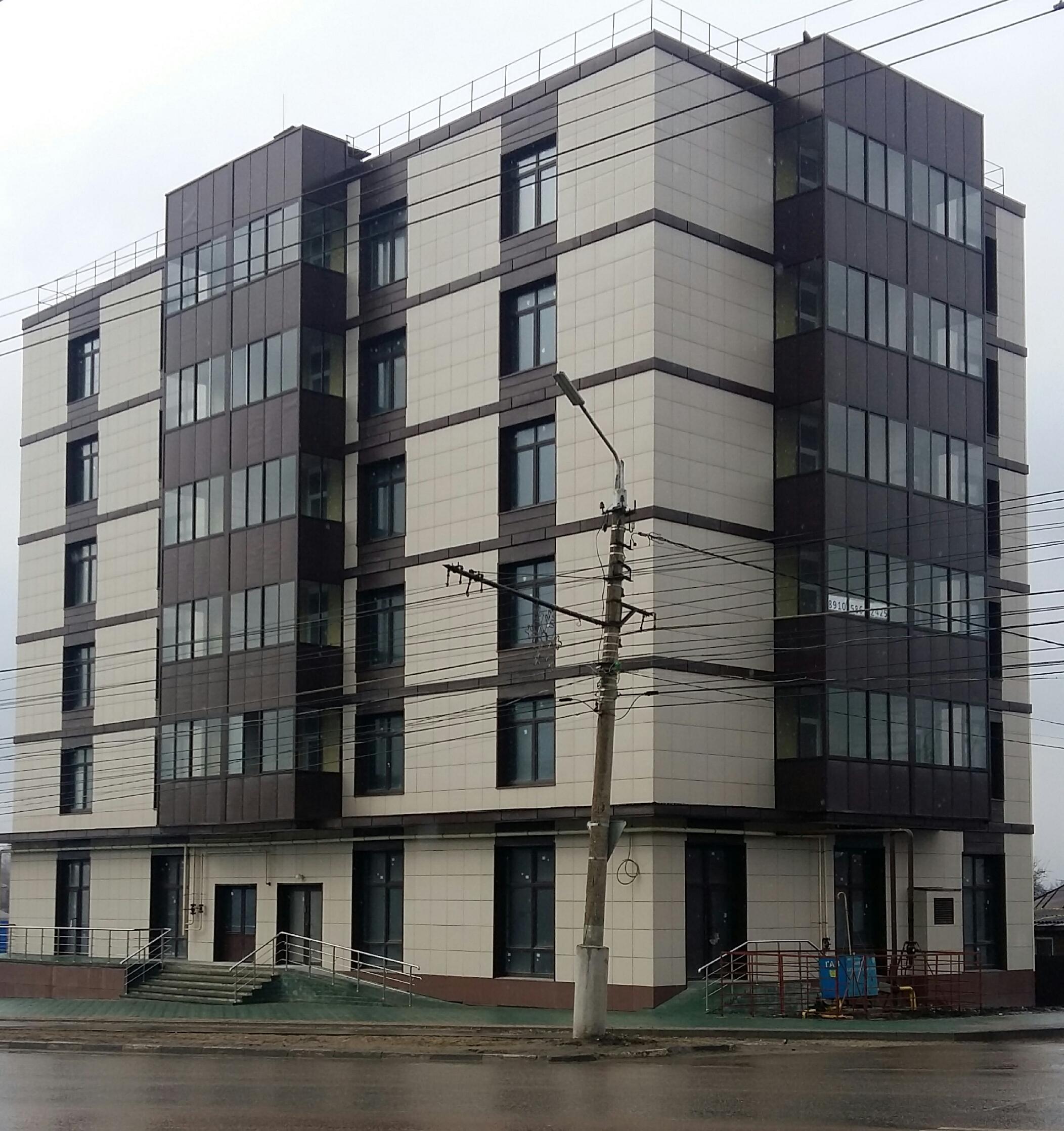 Жилой дом на ул. Дм. Ульянова